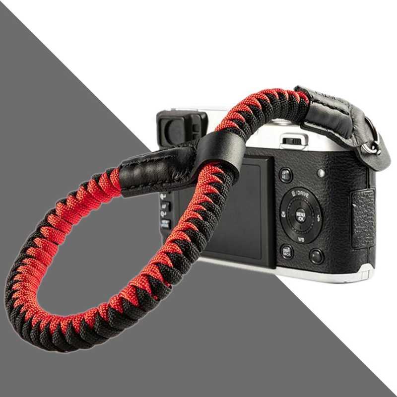 Camera Wrist Strap Hand Strap Compatibel voor Sony A6400 A6000 A6300 A6500 RXIR II RX10 IV X100F X-T30 Camera Klimmen touw