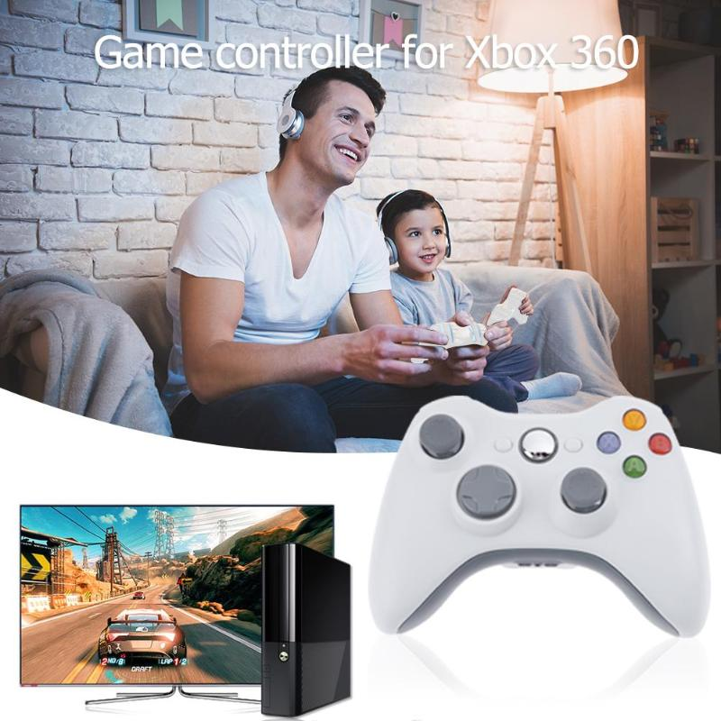VODOOL USB Wired Game Controller Bluetooth Wireless Gamepad For Xbox 360 Joystick PC Video Game Pads Joypad For XBOX 360 Slim in Gamepads from Consumer Electronics