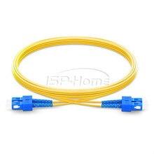 10 м SC/UPC-SC/UPC дуплексный 2,0 мм одномодовый волоконно-оптический патч-корд, волоконно-оптический SC патч-корд, FTTH кабель