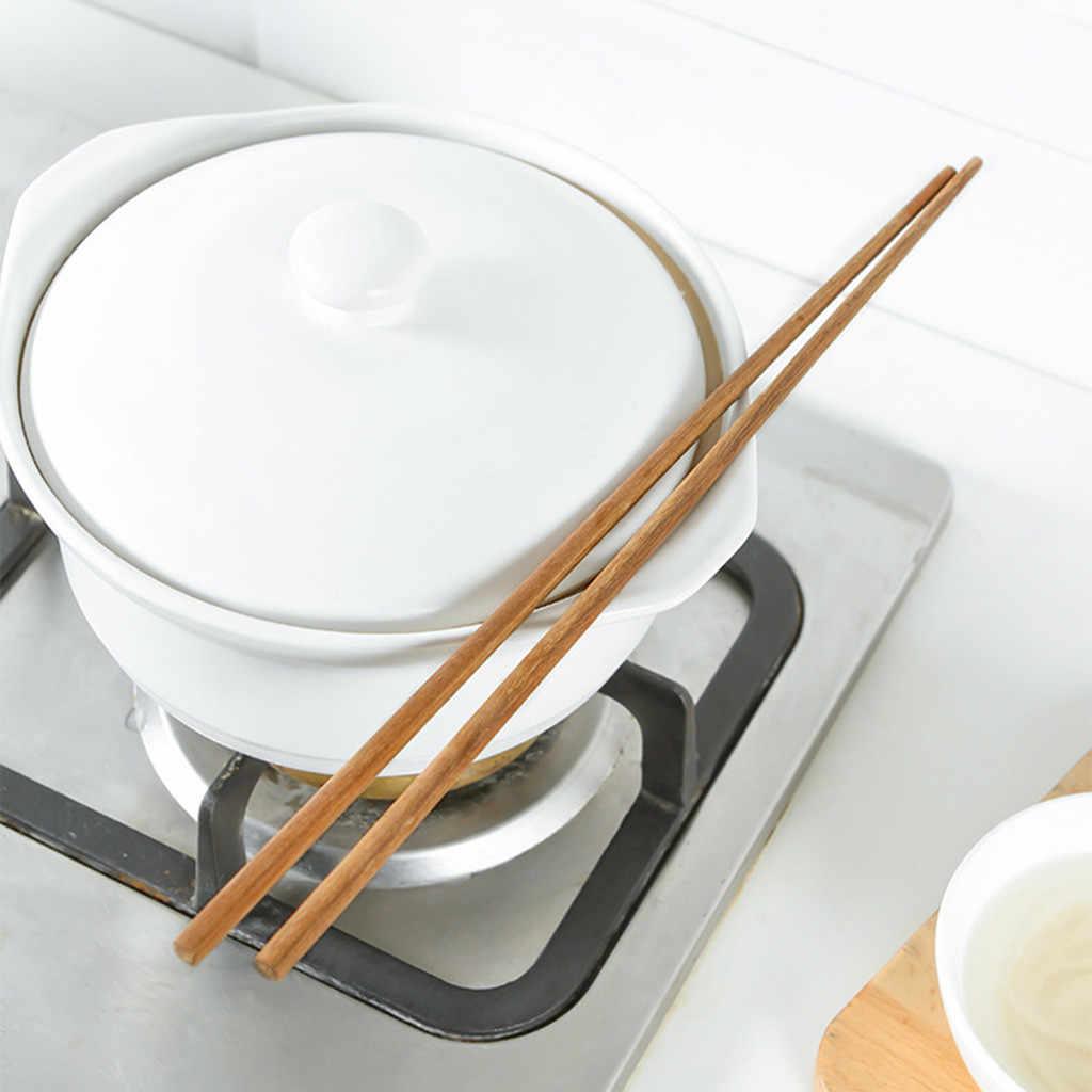 Super ยาวตะเกียบไม้ตะเกียบ Cook ก๋วยเตี๋ยวลึกทอดหม้อร้อนสไตล์จีนอาหาร Sticks เครื่องมือครัวก๋วยเตี๋ยวตะเกียบ