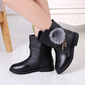 Winter Shoes Boots Toddler Infant Baby Princess Fashion Warm Autumn Anti-Slip -826