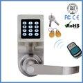 LACHCO скрытый ключ с цифровой клавиатурой дверной замок пульт дистанционного управления + пароль + карта + ключ пружинный болт умный электронн...