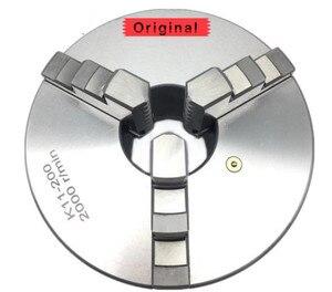 K11-100 Metal Torno 100 milímetros Mandíbula Auto Centralização Chuck 3 & Mandíbula Reversível
