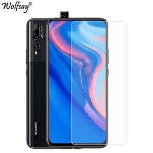 Image 1 - 2Pcs Gehard Glas Voor Huawei Y9S Screen Protector Telefoon Glas Voor Huawei P Smart Z Y9Prime 2019 Glas Voor huawei Y9S Y9 S 2020