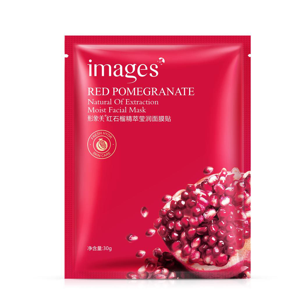Red Pomegranate Shiny Invisible Mask Replenishment Tender Skin