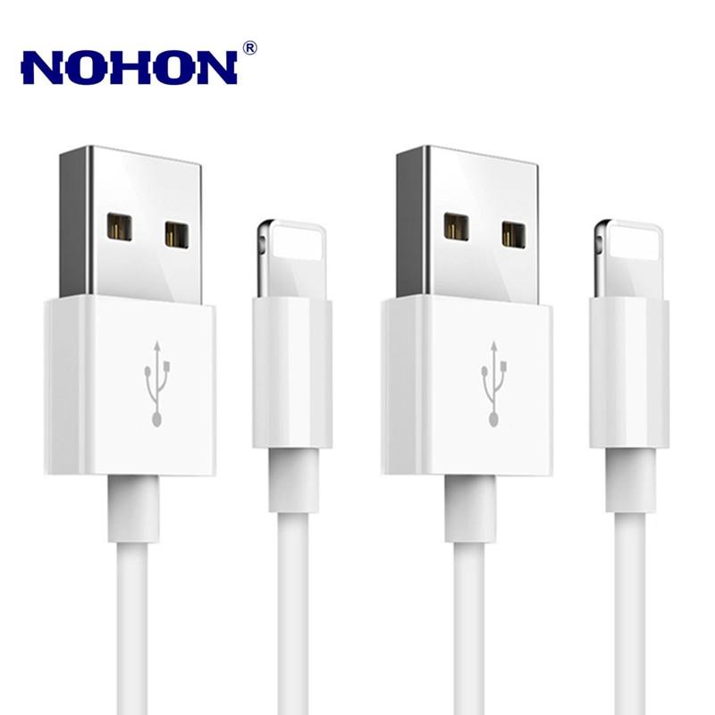 2 шт./лот USB кабель для зарядки данных для iPhone 6 6S 7 8 Plus X XR XS 11 Pro Max SE 5S 5C 5 iPad mini 2 3 Air USB кабель для зарядки 1 м