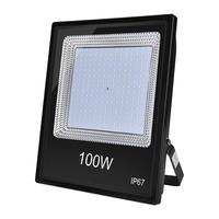100W projektör IP67 220V LED Spot Reflektör Dış Aydınlatma Bahçe Lambası