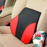 Universal Auto Interior Accessories Memory Foam Cotton Car Back Support Car Lumbar Pillow Seat Support Waist Support