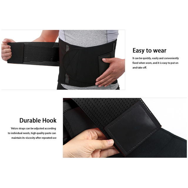 Adjustable Waist Back Support Waist Trainer Trimmer Belt Sweat Utility Band for Sport Gym Fitness Weightlifting Tummy Slim Belts 2