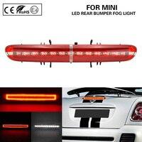 Multi Function LED Rear Bumper Fog Light/running light+LED backup/reversing light+LED brake light for Mini R56 R57 R58 R59