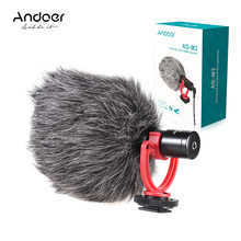 Andoer AD-M2 aparatu skraplacza karaoke lavalier mikrofon do komputera launchpad Mic 3.5mm wtyczka do iphone'a 6/6 plus mikrofon(China)