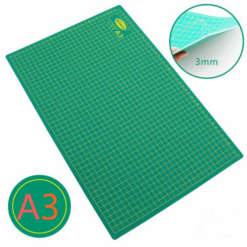A2/a3/a4 White Core Double-sided Cutting Pad Paper Cutting Pad Clay Rubber Stamp Board Pvc Self-repairing Engraving Board Model