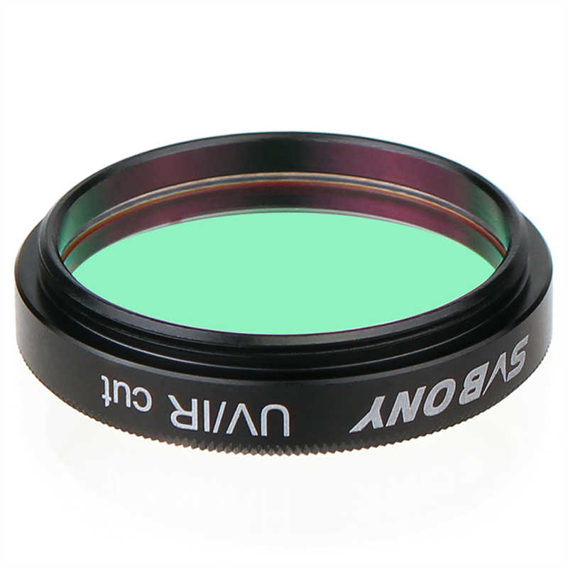 SVBONY 1.25 filter filtro uv/ir corte telescópio óptica infravermelho filtro ccd câmera para astronomia monocular binóculos telescópio f9127