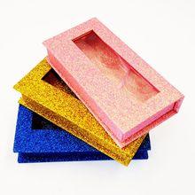 Boîte demballage carrée de faux cils 3d pour cils, étui magnétique vides, vente en gros, 20 unités
