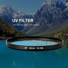 52/55/58/62/67/72/77/82mm UV Filter UV Ultra Violet Filter Lens Filter Protector For