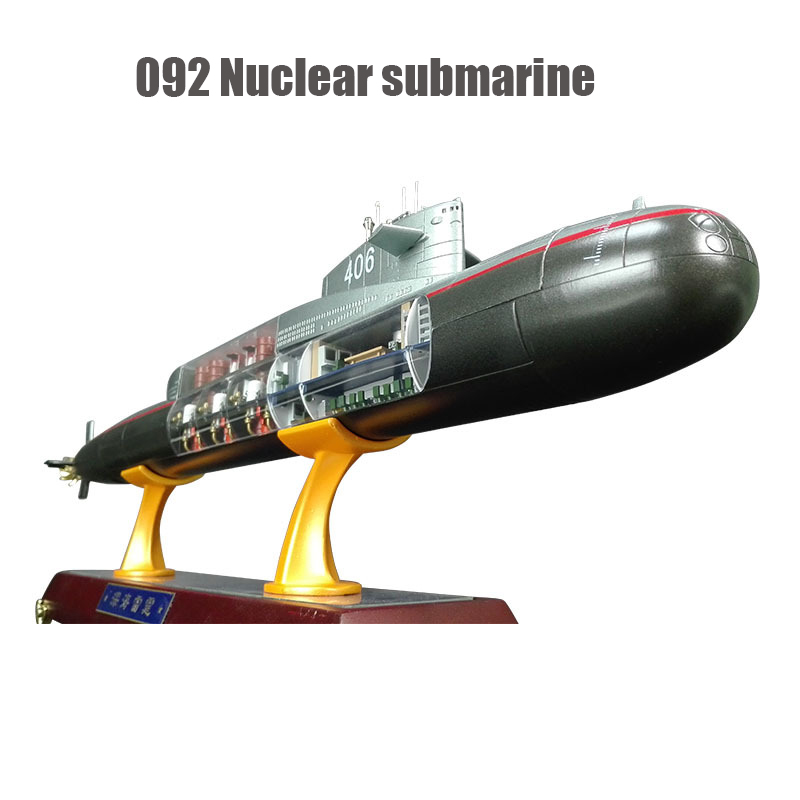 092 Strategic Nuclear Submarine Model 1 / 200 Simulation Alloy Military Model Gift Collection Furnishings Gift