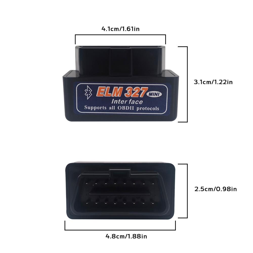 V2.1 ELM327 OBD2 OBD II Bluetooth Scanner29