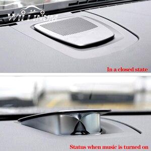 Image 1 - רכב לוח מחוונים רמקול עבור BMW f15 f16 f25 f26 X3 X4 X5 X6 אוטומטי הרמת אודיו רמקול הטוויטר מוסיקה נגן קרן רמקולים
