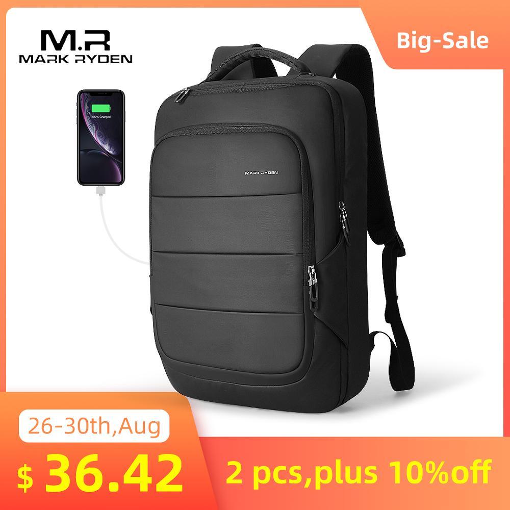 Male Bag Laptop Man Backpack Mark-Ryden Anti-Thief Travel Multifunctional Waterproof