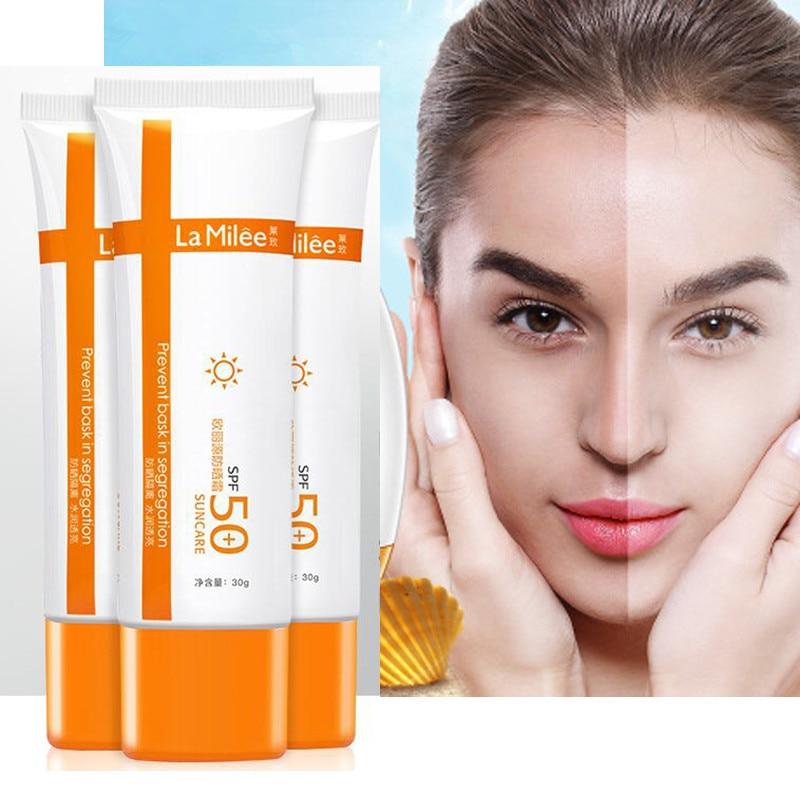 Body Sunscreen SPF 50+ Sun Cream Sunblock Isolation Protective Cream Waterproof Oil-control Moisturizing Skin Care