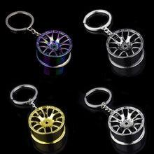 Porte-clés mécanique en métal de haute qualité, pièces de Modification automobile, Mini porte-clés de style de pneu de voiture