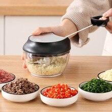Manual Cooking Machine Multi-function Small Stir Stuffer Machine Garlic Grinder Broken Shredder Cutter