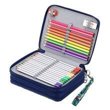 72 Holes Penal for School Pencil Case Cute Pen Box Girls Boys Pencilcase Large Kawaii Cartridge Bag Big Storage Stationery Kit