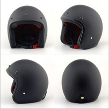 Helmet Classic Motorcycle Retro Light-Design Electric-Car Open And Women's Suitable-For