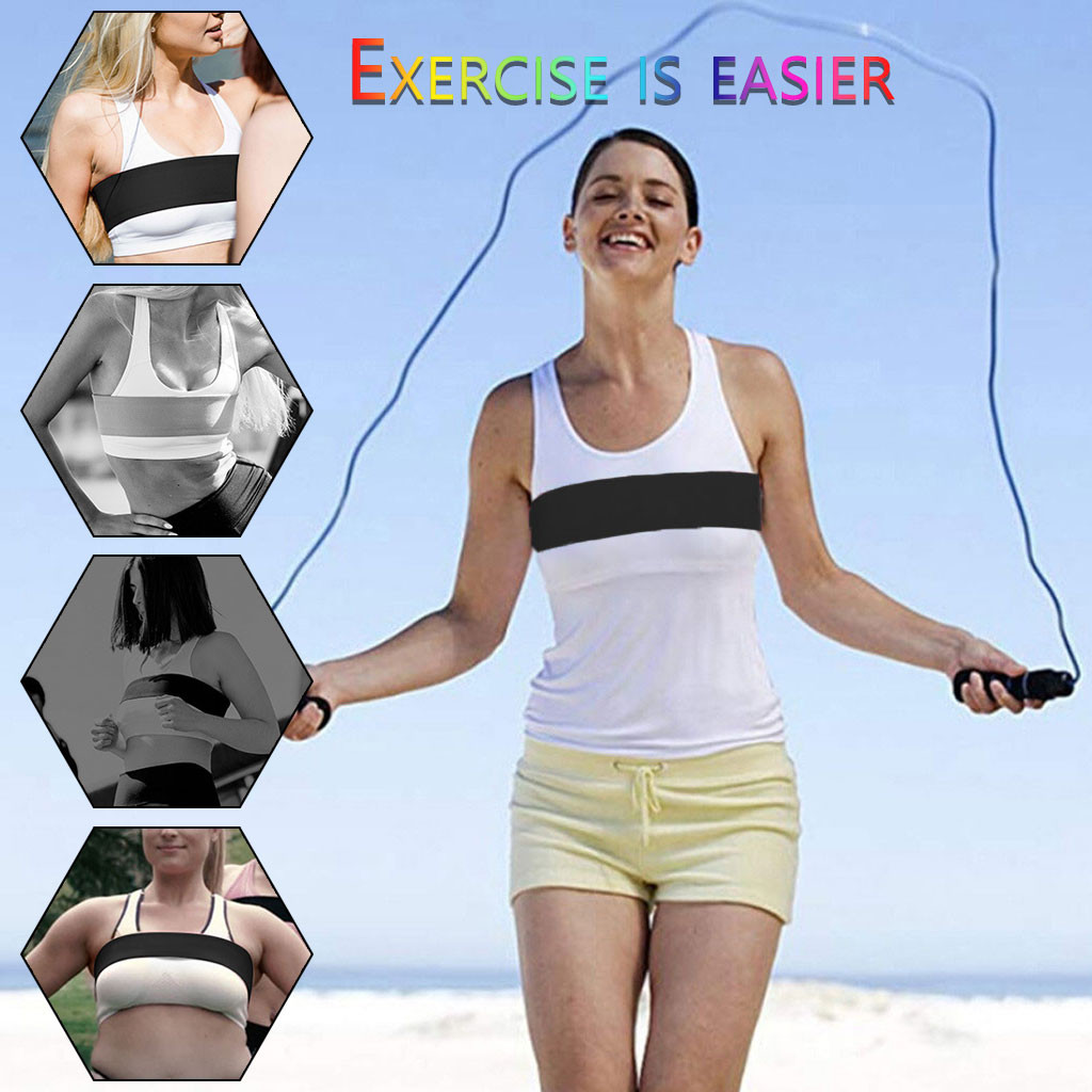 2019 High Quality Women Fashion Sports Essential Adjustable Fitness Bras Belt Anti-vibration Belt Support Wholesale Dropshipping