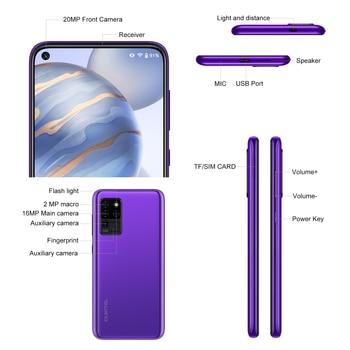 OUKITEL C21 6.4'' FHD+ Hole Punch Screen Mobile Phone 20MP Camera Helio P60 Octa Core 4GB 64GB 4G Smartphone 4000mAh 5