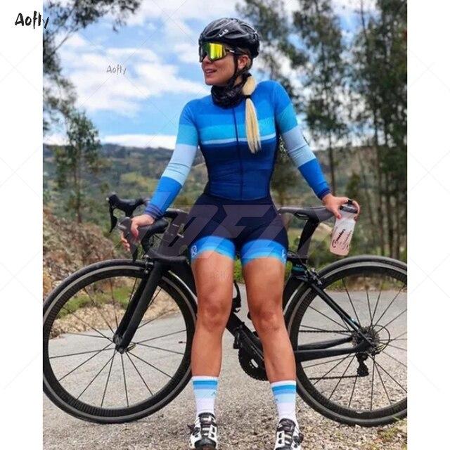 2020 da profissão feminina terno triathlon roupas ciclismo skinsuits meninas macaquinho ciclismo feminino macacão triatlon verão macaquinho ciclismo feminino manga longa roupas com frete gratis macacao ciclismo feminin 4
