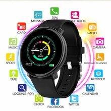 Kcondicee Смарт-часы мужские часы IP67 водонепроницаемый спортивный режим Мониторинг Артериального Давления пульса смарт-браслет для Android IOS