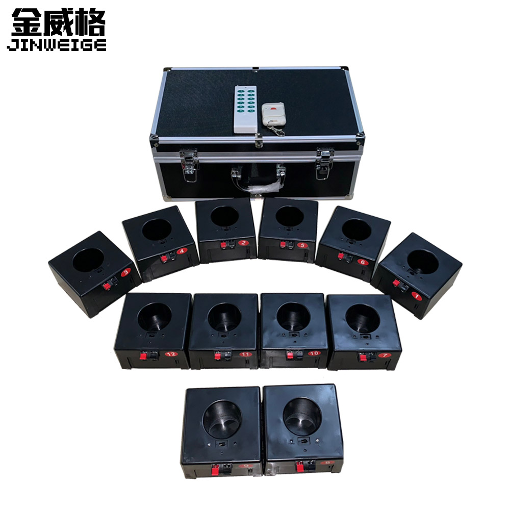 12 Cue Remote Wireless Control Fire-Work Firing Systemand Wedding Equipment
