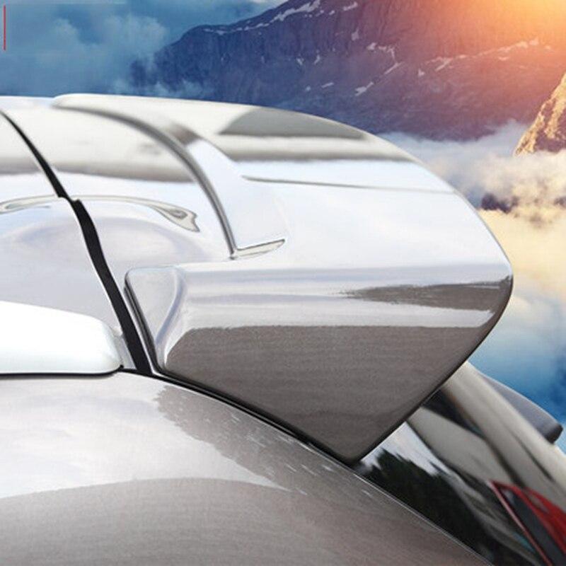 Стайлинг автомобиля, АБС-пластик, неокрашенный Праймер, задний багажник, крыло, спойлер, украшение, подходит для Mitsubishi Outlander 2013-2019