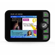 מיני דיגיטלי DAB רדיו מקלט Bluetooth MP3 מוסיקה נגן FM משדר מתאם צבעוני LCD מסך עבור אביזרי רכב