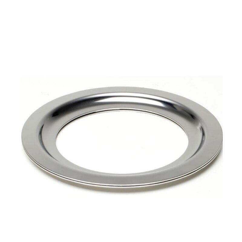JIQI 370 Вт/560 Вт аксессуары для измельчителя мусора 140/160/180 мм адаптер из нержавеющей стали кольцо для замены диаметра 3