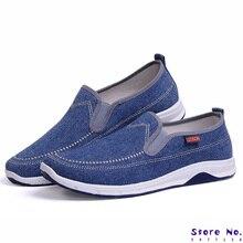 Men Canvas Shoes Fashion Men Loafers Den