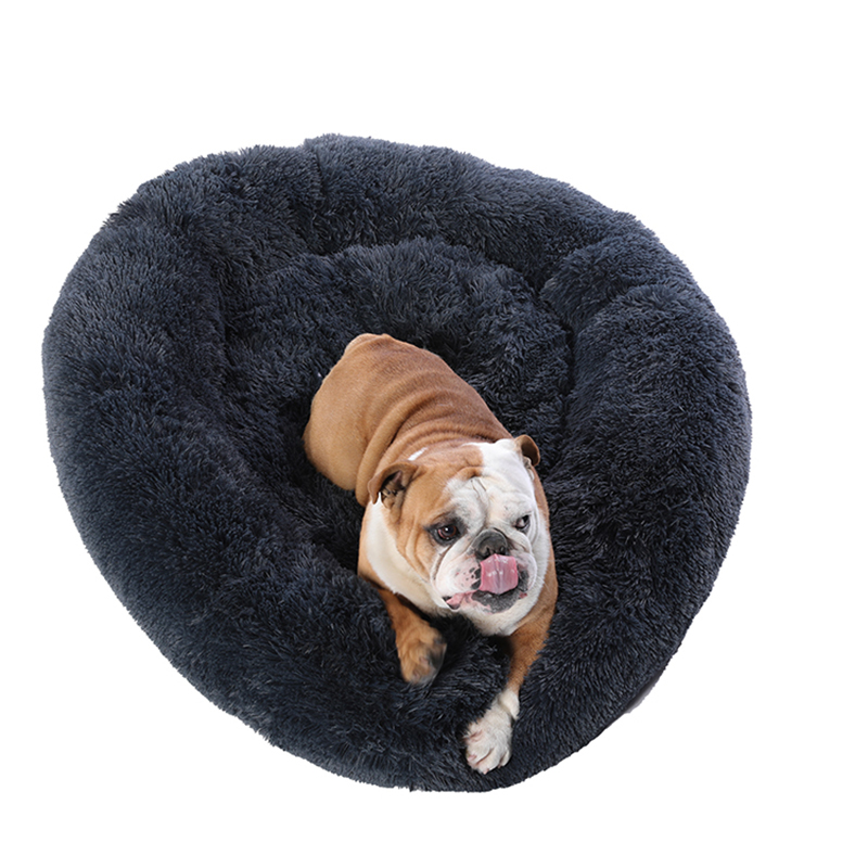 Super Large Dog Bed Round Washable Pets Bed Winter Warm Sleeping Plush Dog Kennel Cat Mats Puppy Cushion Mat Dog Cat Supplies 6