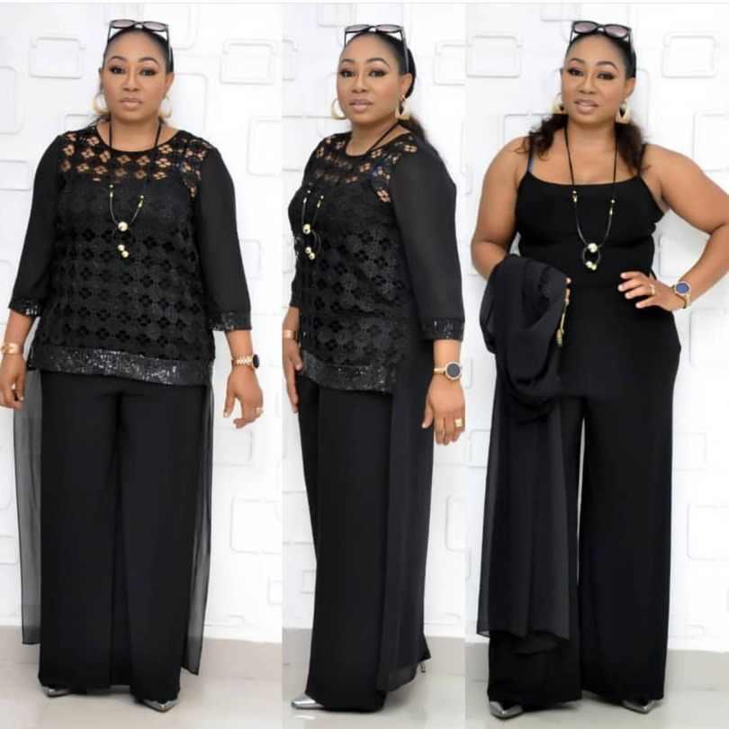 3 חתיכה סטי 4XL בתוספת גודל דאשיקי אפריקאית סטי לנשים נצנצים אפריקאית אלסטי Bazin בבאגי מכנסיים רוק סגנון מפורסם חליפה
