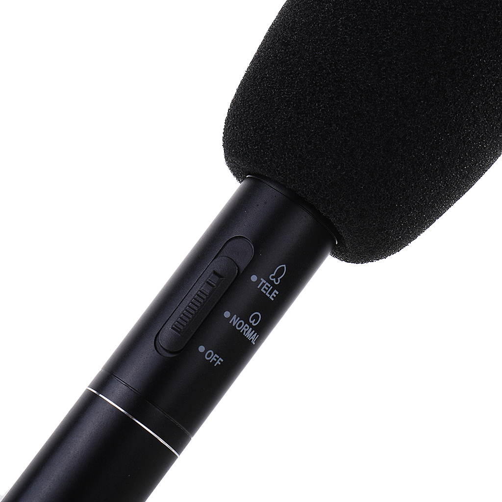 Interview Recording Microphone Reporting Camera Uni-Directional Microphone B