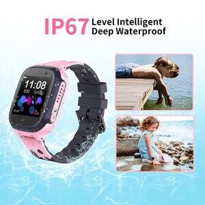 Image 5 - Children Smart Watch GPS LBS WiFi Location Tracker IP67 Waterproof SOS Anti lost 2G kids Smartwatch for Birthday Gift Minibear