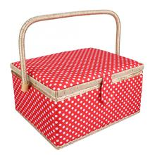 Organizer Sewing-Accessories Storage-Box Craft Thread-Needle Household Fabric EECOO