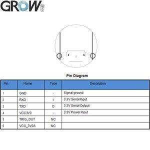 Image 5 - Crescer gm61 pequena interface redonda uart 1d/2d código de barras qr código código de barras módulo leitor