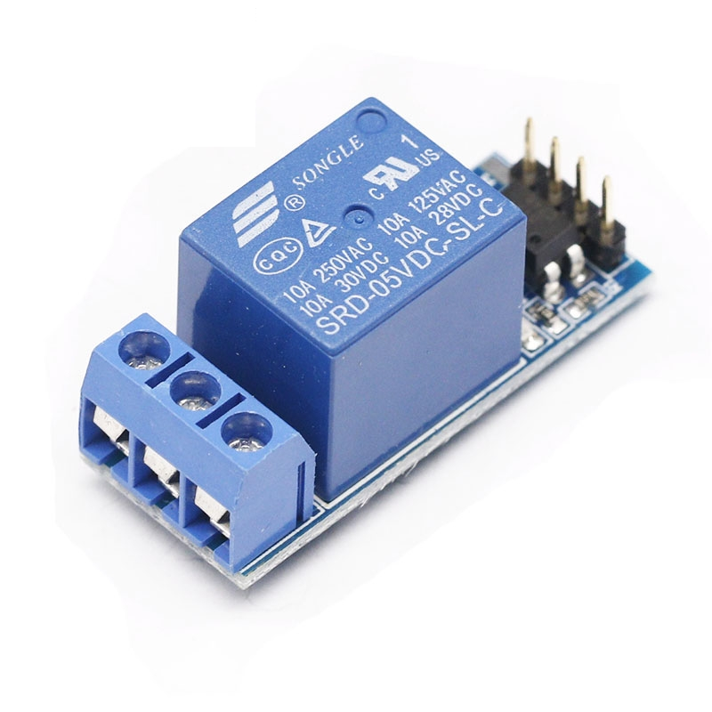 One 1 Channel Relay Module, With Optocoupler Isolation, Fully Compatible With 3.3V And 5V Signal, Relay Control