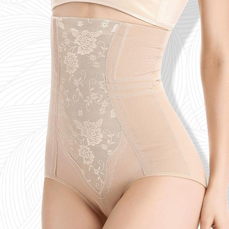 Women's Underwear Belly Pantie High waist Belly pant Waist Training Cotton shapewear Panties Skin/Black/Red 5xl women 2020 New