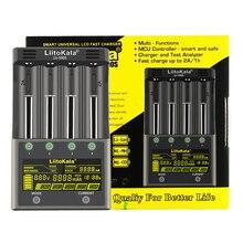 LiitoKala lii 500S LCD 3.7V 1.2V 18650 26650 21700 chargeur de batterie avec écran, tester la capacité de la batterie contrôle tactile
