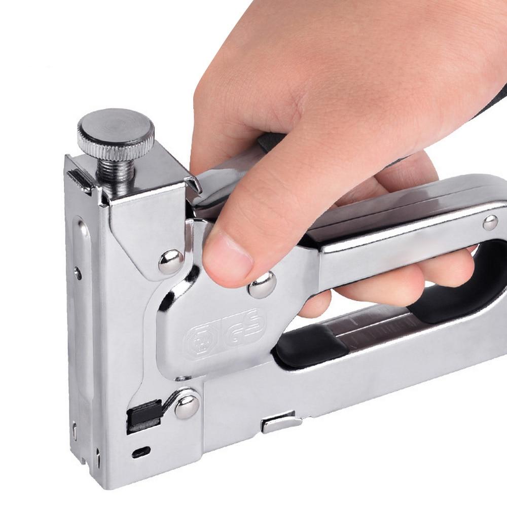 3 In1 Portable Wood Tools Riveter Guns Multitool Hand Tool Manual Code Nail Gun Tool Set Door Nailers Rivet Tool