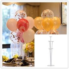 1PC balloon table floating display stand Wedding party arrangement transparent column base bracket