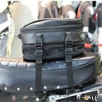 À prova dwaterproof água 7.5 1010l saco de bagagem da motocicleta assento montar caixa volta pacote caixa mão