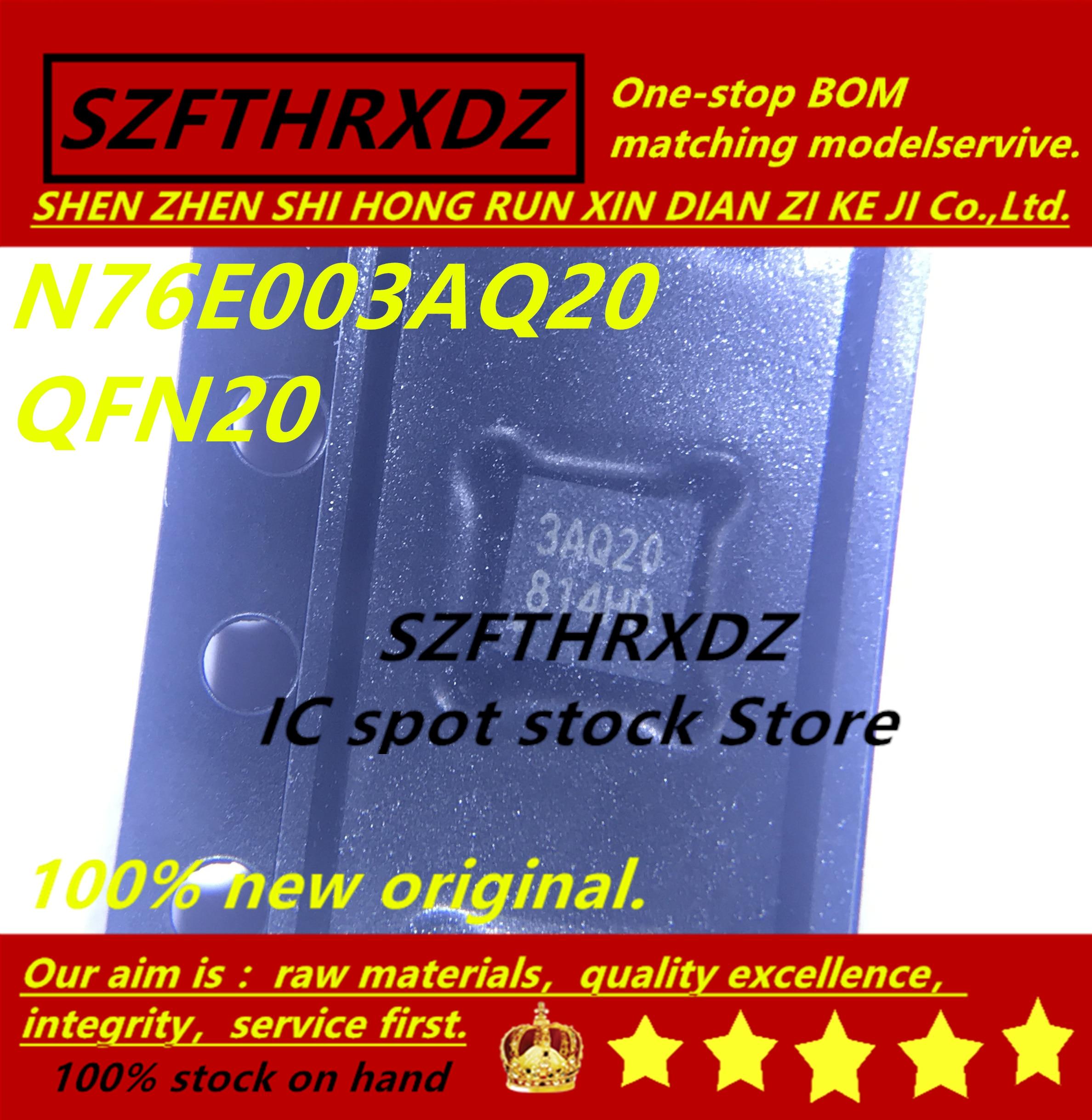 SZFTHRXDZ 100% Новый оригинал (10 шт 50 шт) N76E003AQ20 3AQ20 QFN20|Индукторы| | АлиЭкспресс